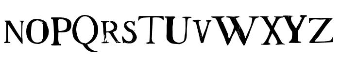 Westsac Regular Font UPPERCASE