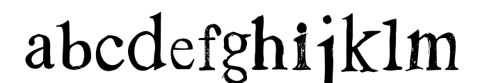 Westsac Regular Font LOWERCASE