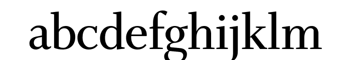 Whitman Display Compressed Semi Bold Font LOWERCASE
