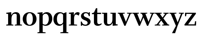 Whitman Display Condensed Bold Font LOWERCASE