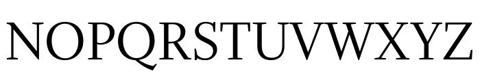 Whitman Display Condensed Regular Font UPPERCASE