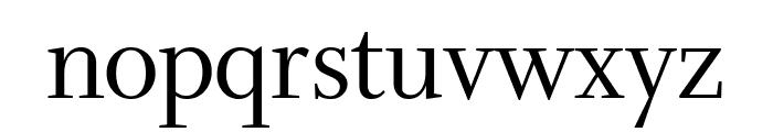 Whitman Display Condensed Regular Font LOWERCASE