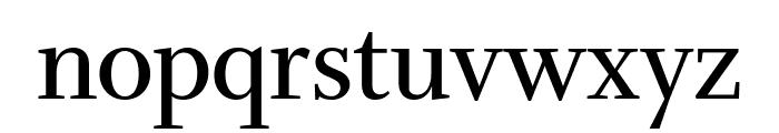 Whitman Display Condensed Semi Bold Font LOWERCASE
