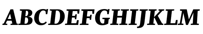 Whitman Display Extra Black Italic Font UPPERCASE