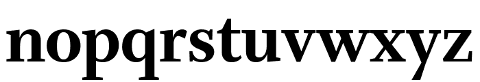Whitman Display Extra Bold Font LOWERCASE