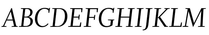 Whitman Display Italic Font UPPERCASE