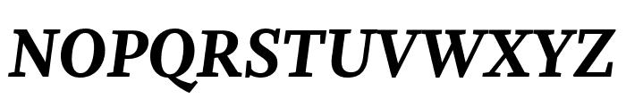 Whitman Extra Bold Italic Font UPPERCASE