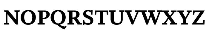 Whitman Extra Bold Font UPPERCASE