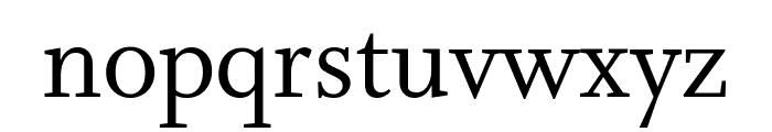 Whitman Roman Font LOWERCASE