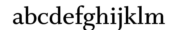 Whitman Semi Bold Font LOWERCASE