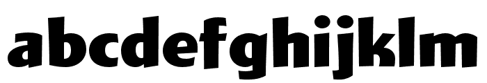 Wigwag Deluxe Font LOWERCASE