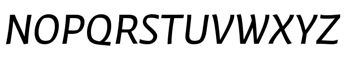 Winco Regular Italic Font UPPERCASE