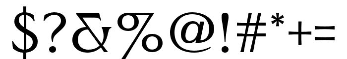 Worthington Arcade Regular Font OTHER CHARS