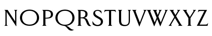 Worthington Arcade Regular Font LOWERCASE