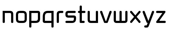 Xenara Regular Font LOWERCASE