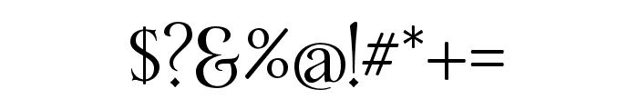 Yana Bold Font OTHER CHARS