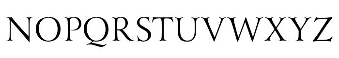 Yana Italic Font UPPERCASE