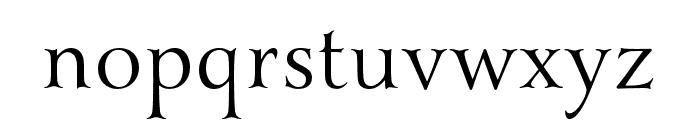 Yana Italic Font LOWERCASE