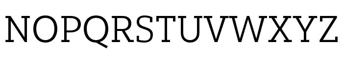Yorkten Slab Cond Book Font UPPERCASE