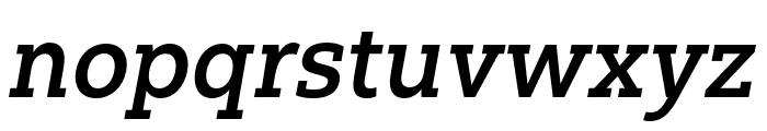 Yorkten Slab Cond Demi Ital Font LOWERCASE