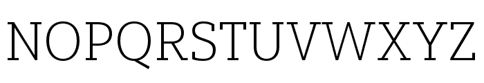 Yorkten Slab Cond Thin Font UPPERCASE