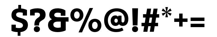 Yorkten Slab Ext Black Font OTHER CHARS