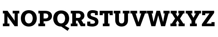 Yorkten Slab Ext Black Font UPPERCASE