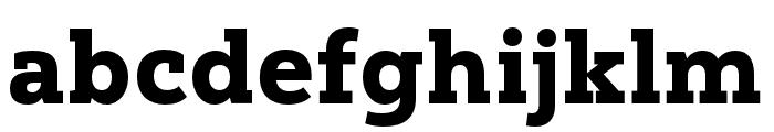 Yorkten Slab Ext Black Font LOWERCASE