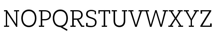Yorkten Slab Ext Light Font UPPERCASE
