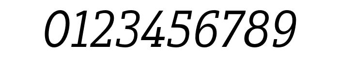 Yorkten Slab Ext Regular Ital Font OTHER CHARS
