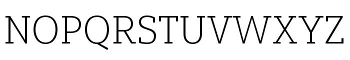 Yorkten Slab Ext Thin Font UPPERCASE