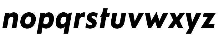 Ysans Std ExtraBold Italic Font LOWERCASE