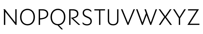 Ysans Std Light Font UPPERCASE