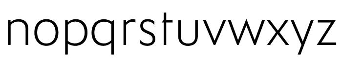 Ysans Std Light Font LOWERCASE