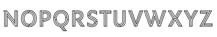 Ysans Std Mondrian Regular Font UPPERCASE