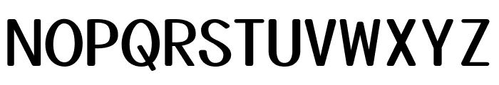 Yusei Magic Regular Font UPPERCASE