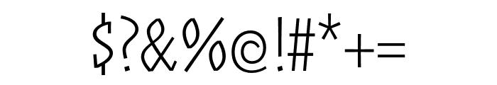 ZalamanderCaps Extralight Font OTHER CHARS