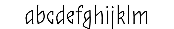 ZalamanderCaps Extralight Font LOWERCASE