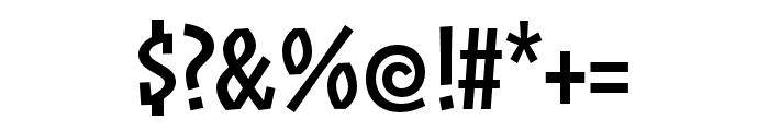 ZalamanderCaps Regular Font OTHER CHARS