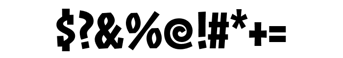 ZalamanderCaps Semibold Font OTHER CHARS