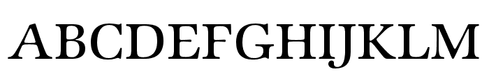 Zapf Intl ITC Std Medium Font UPPERCASE