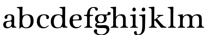Zapf Intl ITC Std Medium Font LOWERCASE