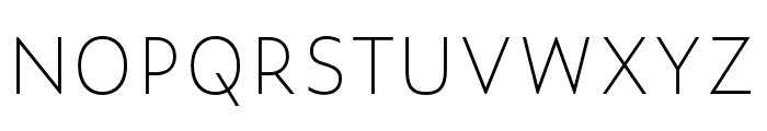 Zeitung Mono Pro Bold Font UPPERCASE