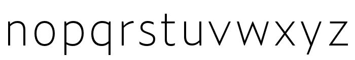 Zeitung Mono Pro Bold Font LOWERCASE