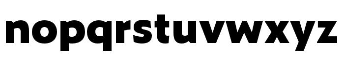 Zeitung Mono Pro Extrabold Font LOWERCASE