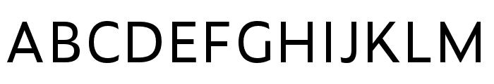 Zeitung Mono Pro Regular Font UPPERCASE