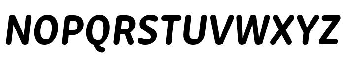 Zen New Bold Italic Font UPPERCASE