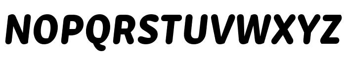 Zen New ExtraBold Italic Font UPPERCASE
