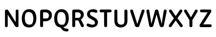 Zen New SemiBold Font UPPERCASE