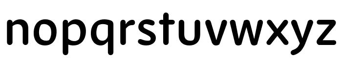Zen New SemiBold Font LOWERCASE